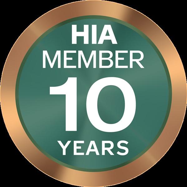 agfix HIA member 10 years